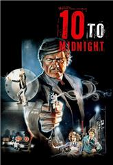 10 to Midnight (1983) bluray Poster