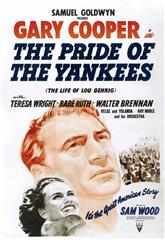 The Pride of the Yankees (1942) 1080p Poster