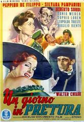A Day in Court (1954) Poster