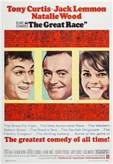 The Great Race (1965) bluray Poster