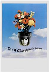 On a Clear Day You Can See Forever (1970) bluray Poster
