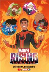 Marvel Rising: Playing with Fire (2019) 1080p Poster