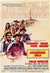 Mackenna's Gold (1969) bluray Poster