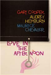 Love in the Afternoon (1957) bluray Poster