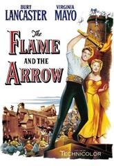 The Flame and the Arrow (1950) 1080p Poster