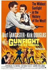 Gunfight at the O.K. Corral (1957) bluray Poster