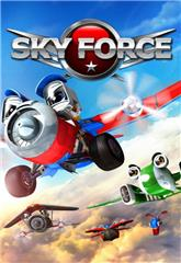 Sky Force 3D (2012) bluray Poster