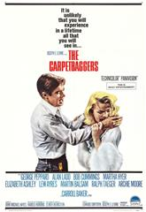 The Carpetbaggers (1964) bluray Poster