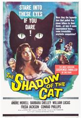 The Shadow of the Cat (1961) bluray Poster