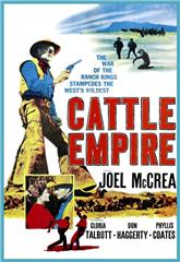 Cattle Empire (1958) 1080p Poster