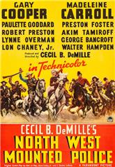 North West Mounted Police (1940) 1080p Poster
