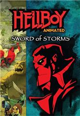 Hellboy Animated: Sword of Storms (2006) bluray Poster
