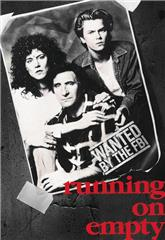 Running on Empty (1988) bluray Poster