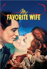 My Favorite Wife (1940) 1080p web poster