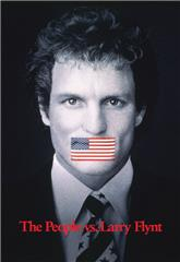 The People vs. Larry Flynt (1996) bluray poster