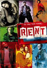 Rent (2005) bluray Poster