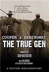 Cooper and Hemingway: The True Gen (2013) Poster