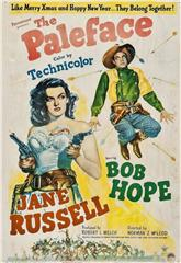 The Paleface (1948) bluray Poster