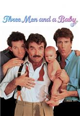 Three Men and a Baby (1987) web Poster