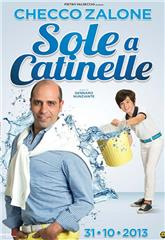 Sole a catinelle (2013) 1080p Poster