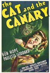 The Cat and the Canary (1939) Poster