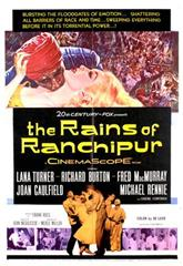 The Rains of Ranchipur (1955) Poster