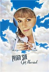 Peggy Sue Got Married (1986) bluray Poster