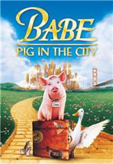 Babe: Pig in the City (1998) bluray Poster