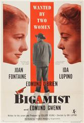 The Bigamist (1953) bluray Poster