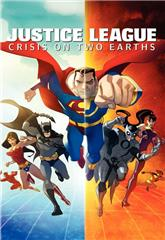 Justice League: Crisis on Two Earths (2010) bluray Poster