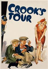 Crook's Tour (1940) bluray Poster
