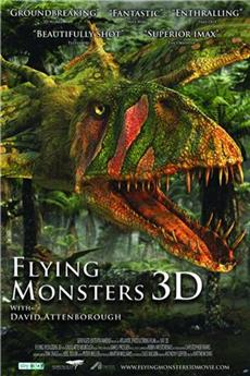 Flying Monsters 3D (2011) Poster