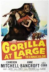 Gorilla at Large (1954) Poster