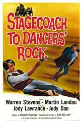 Stagecoach to Dancers' Rock (1962) Poster