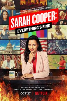 Sarah Cooper: Everything's Fine (2020) 1080p Poster