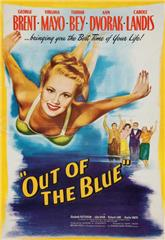 Out of the Blue (1947) 1080p bluray Poster