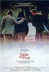 Table for Five (1983) Poster