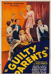 Guilty Parents (1934) Poster