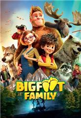 Bigfoot Family (2020) bluray Poster