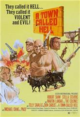 A Town Called Hell (1971) bluray Poster