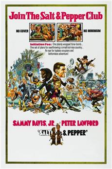 Salt and Pepper (1968) 1080p Poster