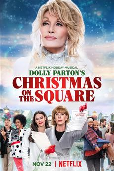 Christmas on the Square (2020) Poster
