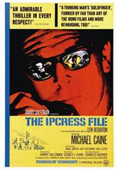The Ipcress File (1965) bluray Poster