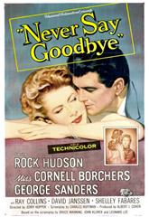 Never Say Goodbye (1956) 1080p poster