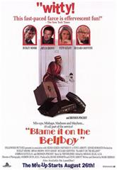 Blame It on the Bellboy (1992) 1080p poster