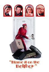 Blame It on the Bellboy (1992) bluray poster