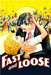 Fast and Loose (1930) bluray poster