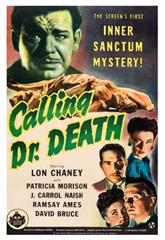 Calling Dr. Death (1943) Poster