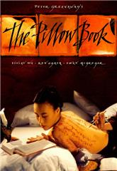 The Pillow Book (1996) bluray Poster