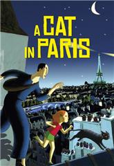 A Cat in Paris (2010) bluray Poster